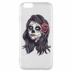 Чохол для iPhone 6/6S Sugar girl with a rose