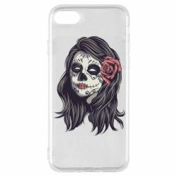 Чохол для iPhone 8 Sugar girl with a rose