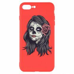 Чохол для iPhone 8 Plus Sugar girl with a rose