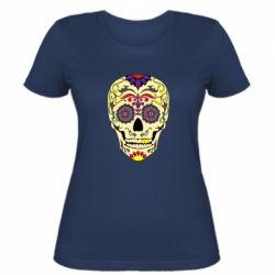 Жіноча футболка Sugar Skull Vector
