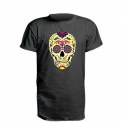 Подовжена футболка Sugar Skull Vector