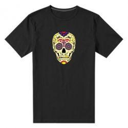 Чоловіча стрейчева футболка Sugar Skull Vector