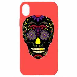 Чохол для iPhone XR Sugar Skull Vector