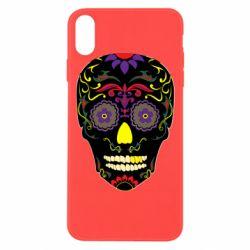 Чохол для iPhone Xs Max Sugar Skull Vector