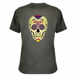 Камуфляжна футболка Sugar Skull Vector