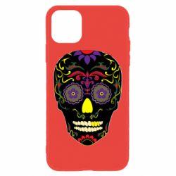 Чохол для iPhone 11 Sugar Skull Vector