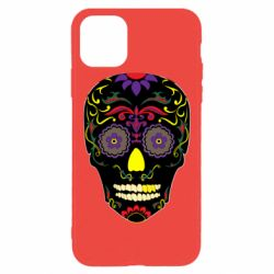 Чохол для iPhone 11 Pro Max Sugar Skull Vector
