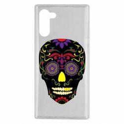 Чохол для Samsung Note 10 Sugar Skull Vector