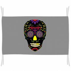 Прапор Sugar Skull Vector