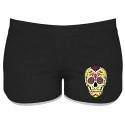 Жіночі шорти Sugar Skull Vector