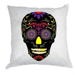 Подушка Sugar Skull Vector