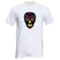 Чоловіча спортивна футболка Sugar Skull Vector