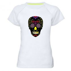 Жіноча спортивна футболка Sugar Skull Vector