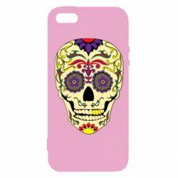 Чохол для iphone 5/5S/SE Sugar Skull Vector