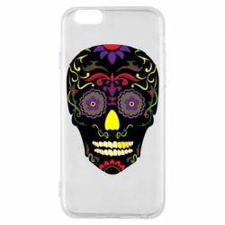 Чохол для iPhone 6/6S Sugar Skull Vector