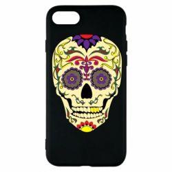 Чохол для iPhone 7 Sugar Skull Vector