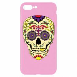 Чохол для iPhone 7 Plus Sugar Skull Vector