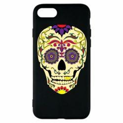 Чохол для iPhone 8 Sugar Skull Vector
