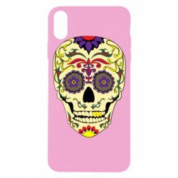 Чохол для iPhone X/Xs Sugar Skull Vector