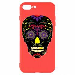 Чохол для iPhone 8 Plus Sugar Skull Vector