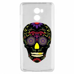 Чехол для Xiaomi Redmi 4 Sugar Skull Vector