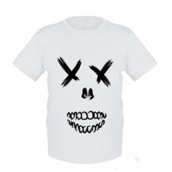 Детская футболка Suicide skull