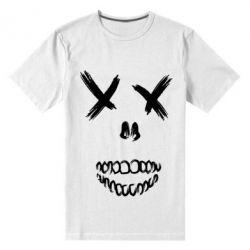 Мужская стрейчевая футболка Suicide skull