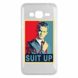Чехол для Samsung J3 2016 Suit up! - FatLine