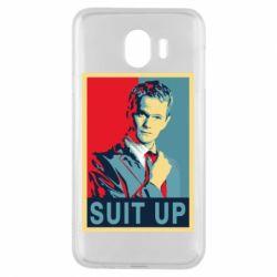 Чехол для Samsung J4 Suit up! - FatLine