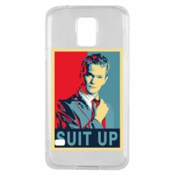 Чехол для Samsung S5 Suit up!