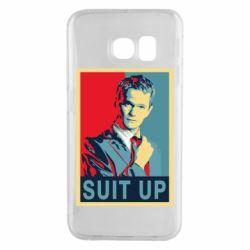 Чехол для Samsung S6 EDGE Suit up! - FatLine