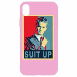 Чехол для iPhone XR Suit up!