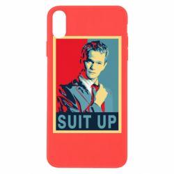 Чехол для iPhone Xs Max Suit up!