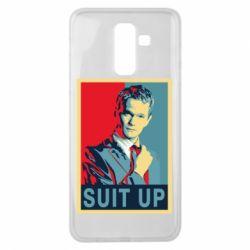 Чехол для Samsung J8 2018 Suit up!
