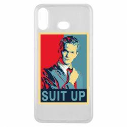 Чехол для Samsung A6s Suit up!