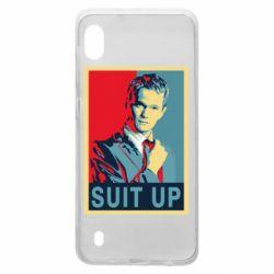 Чехол для Samsung A10 Suit up!