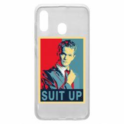 Чехол для Samsung A20 Suit up!