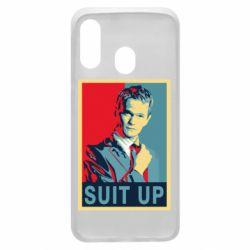 Чехол для Samsung A40 Suit up!
