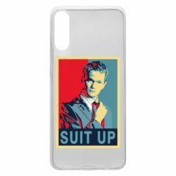 Чехол для Samsung A70 Suit up!