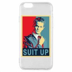 Чехол для iPhone 6/6S Suit up!