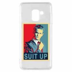 Чехол для Samsung A8 2018 Suit up! - FatLine