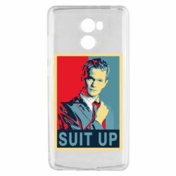 Чехол для Xiaomi Redmi 4 Suit up! - FatLine