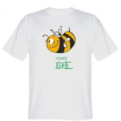 Мужская футболка Сумасшедшая пчелка - FatLine