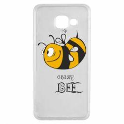 Чехол для Samsung A3 2016 Сумасшедшая пчелка