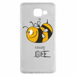 Чехол для Samsung A5 2016 Сумасшедшая пчелка