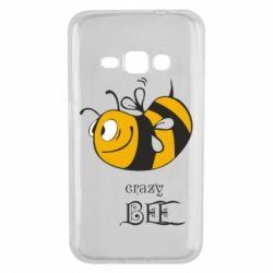Чехол для Samsung J1 2016 Сумасшедшая пчелка