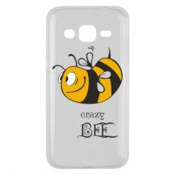 Чехол для Samsung J2 2015 Сумасшедшая пчелка