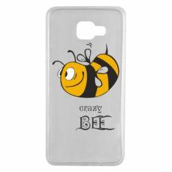 Чехол для Samsung A7 2016 Сумасшедшая пчелка