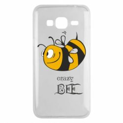 Чехол для Samsung J3 2016 Сумасшедшая пчелка