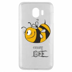Чехол для Samsung J4 Сумасшедшая пчелка